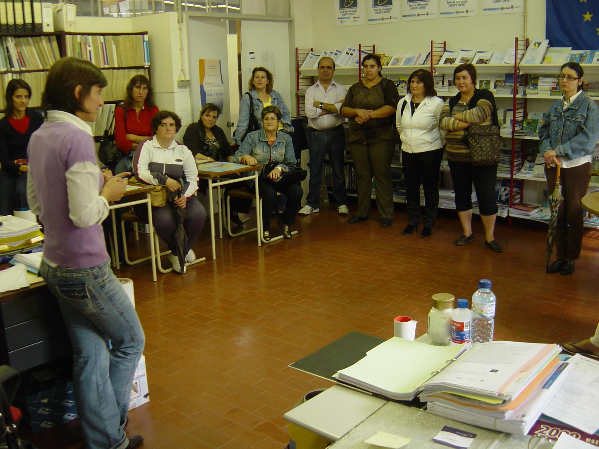 Visita de Estudo do Curso de Apoio à Família e à Comunidade 03