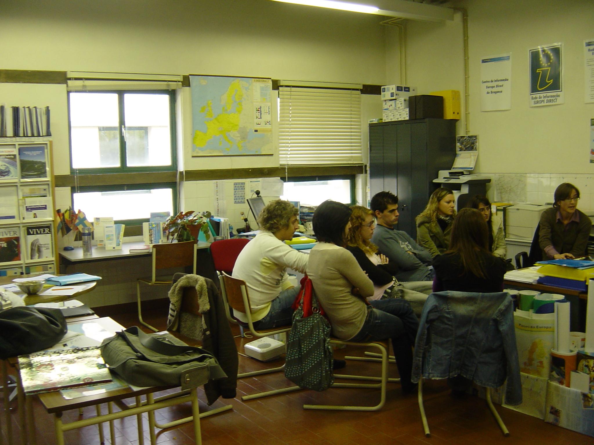 Visita de Estudo do CET de Cuidados Veterinários