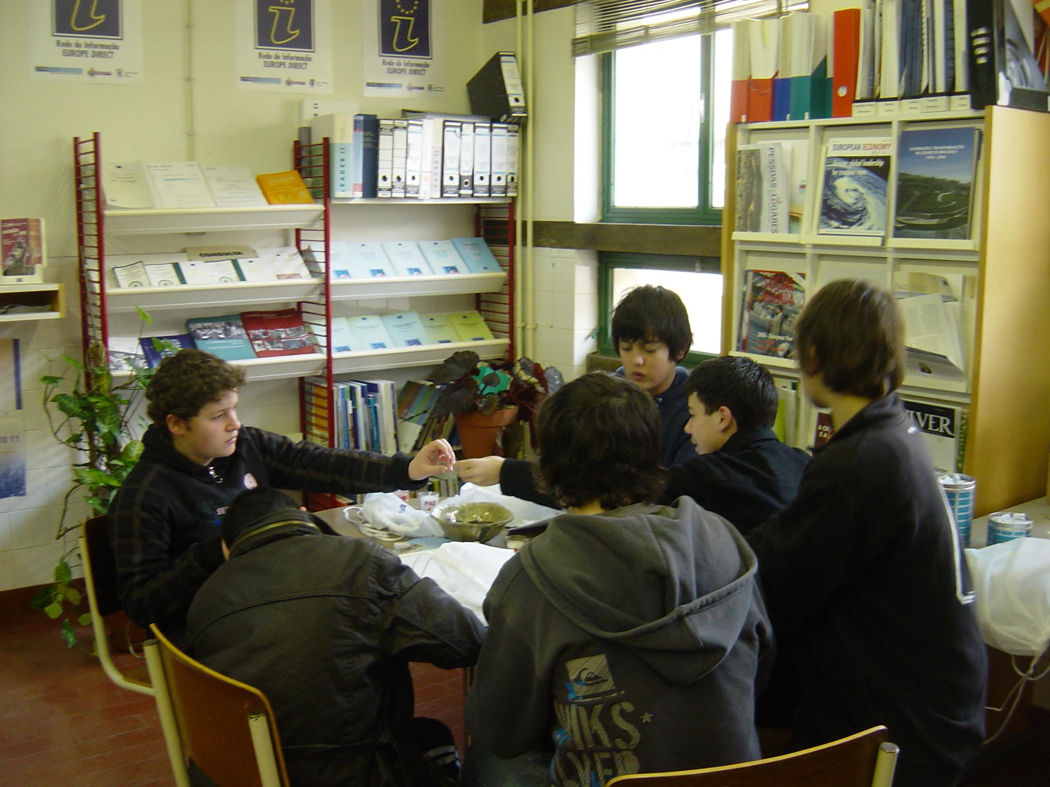 Visita de Estudo de alunos do 7ºB da Escola Emídio Garcia