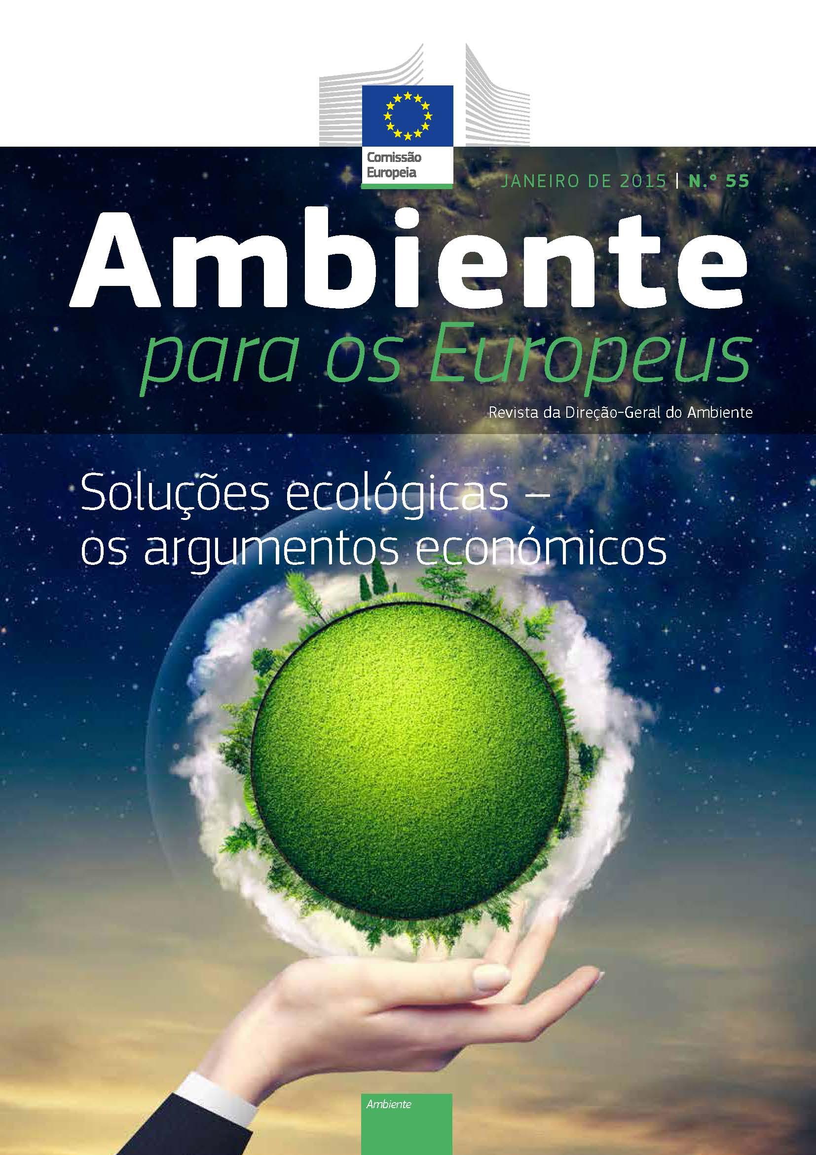 """Revista """"Ambiente para os Europeus"""" – Edição Nº 55"""