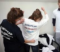 Reforçar o Corpo Europeu de Solidariedade