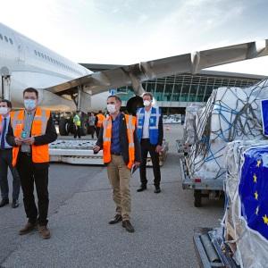 Lisboa a São Tomé: Ponte Aérea Humanitária da UE contra o coronavírus