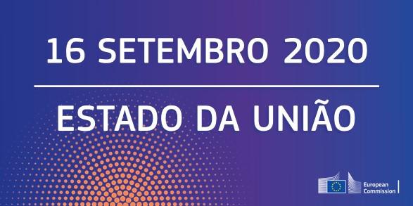 Discurso sobre o Estado da União 2020 – 16  de setembro – 8h00