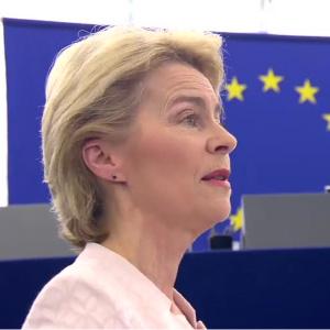 Presidente Ursula von der Leyen em Lisboa