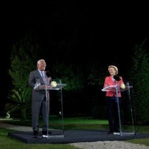 «Portugal é também um modelo na definição do caminho rumo ao futuro»: declaração da presidente Ursula von der Leyen em Lisboa