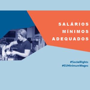 Salários mínimos adequados para os trabalhadores em todos os Estados-Membros