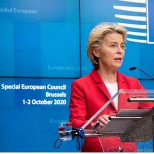 Reunião extraordinária do Conselho Europeu de 1 de outubro de 2020