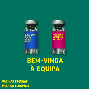 Comissão Europeia autoriza segunda vacina segura e eficaz contra a COVID-19